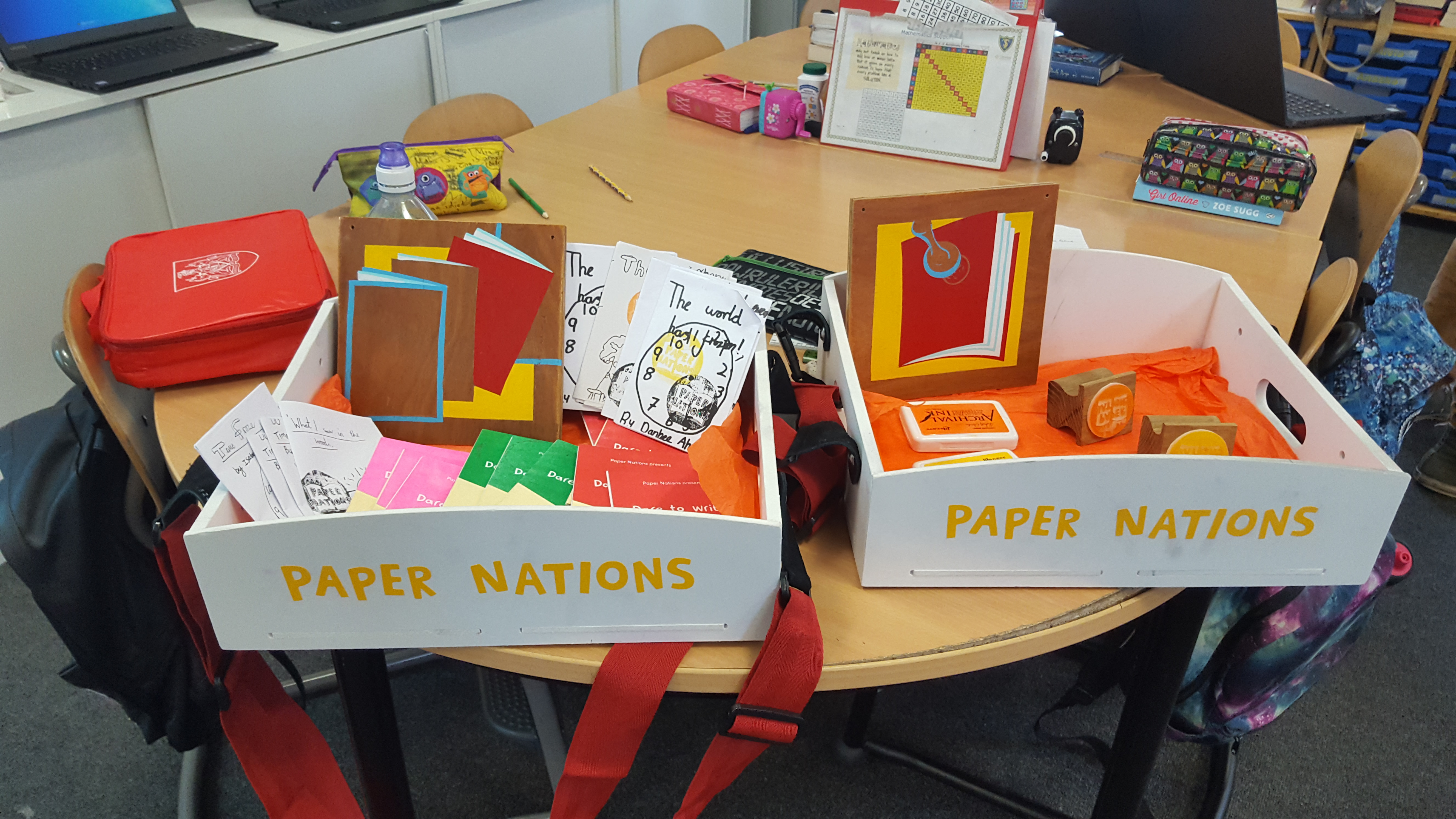 Paper Nations box